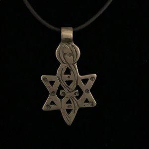 Ethiopian Star of David Necklace